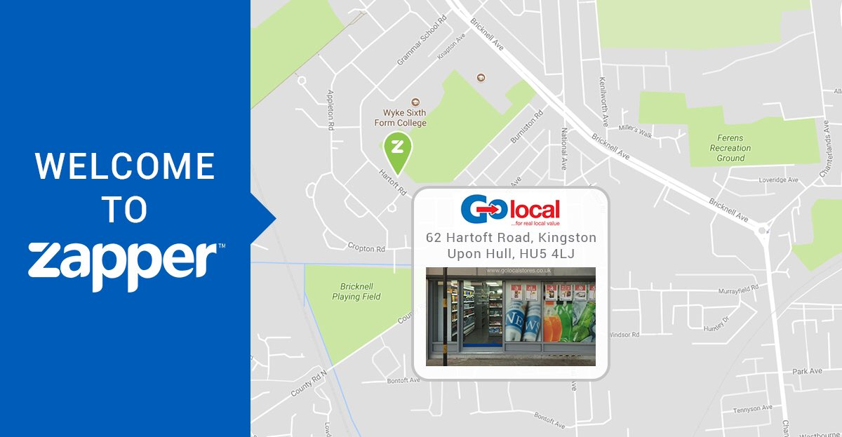 Another week, another store to accept #Zapper #mobilepayments &amp; #rewards! #WednesdayWelcome to #GoLocal #HartoftRd #therewardingwaytopay<br>http://pic.twitter.com/KaZQSyAkwg