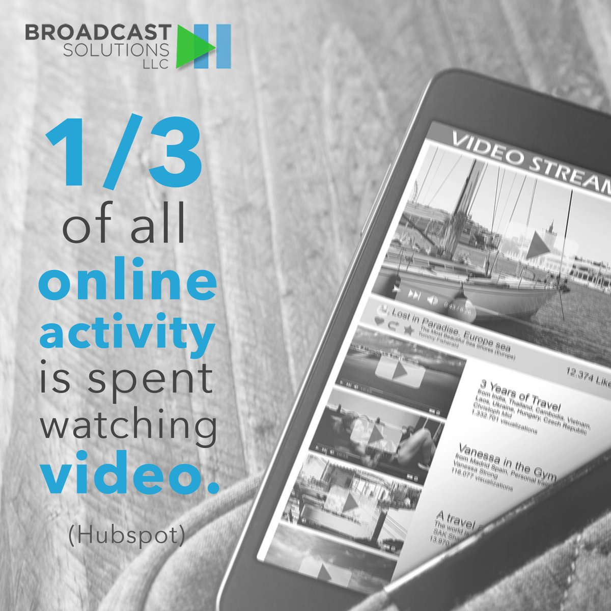 And, that's expected to continue to increase over the next few years! #WednesdayWisdom #videomarketing <br>http://pic.twitter.com/6d6kMVxA6y