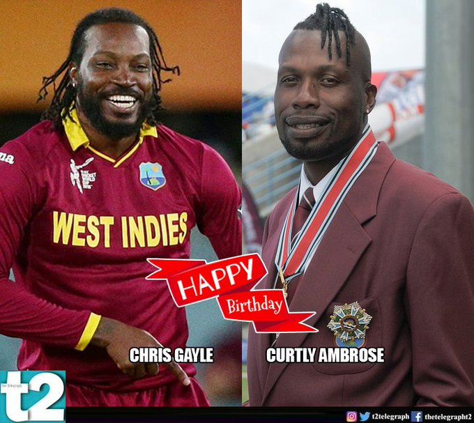 Happy birthday to West Indian greats Curtly Ambrose and