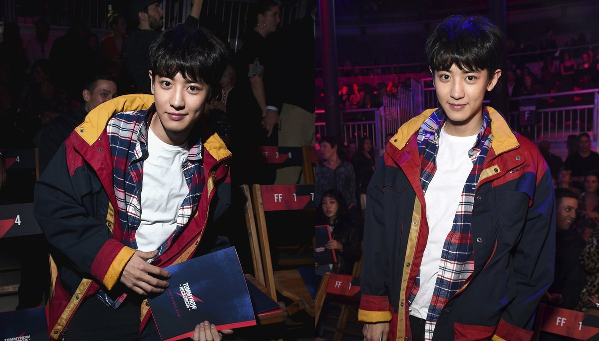 'Tommy Hilfiger' features the 'ultimate Tommy boy' #EXO Chanyeol https://t.co/Pad41LXE6d
