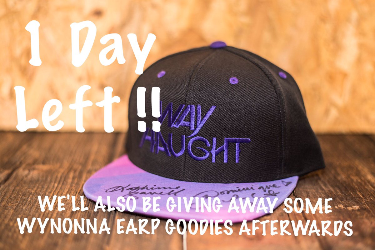 1 Day Left #earpers !! We&#39;ll have a few #wynonnaearp giveaways after the auction. #wayhaught #charity <br>http://pic.twitter.com/ZBCI8FFEJI