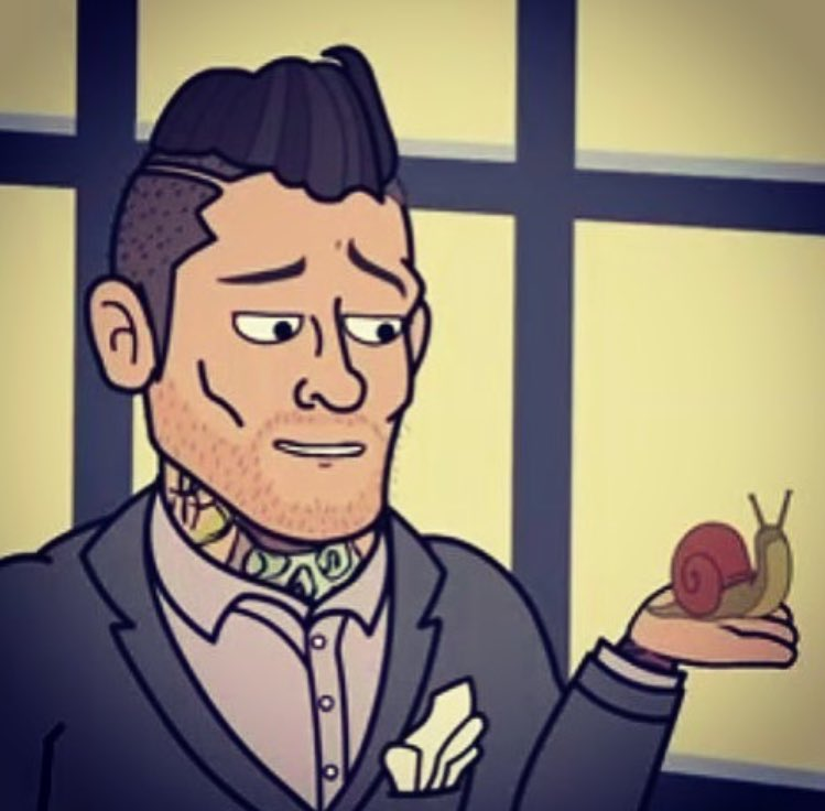 I want a girl to look at me the way cartoon @WWEGraves looks at snails
