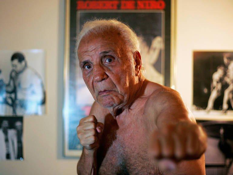Jake LaMotta, 95, que inspirou o filme 'Touro Indomável', morre em Miami https://t.co/B12ekp0Zmp