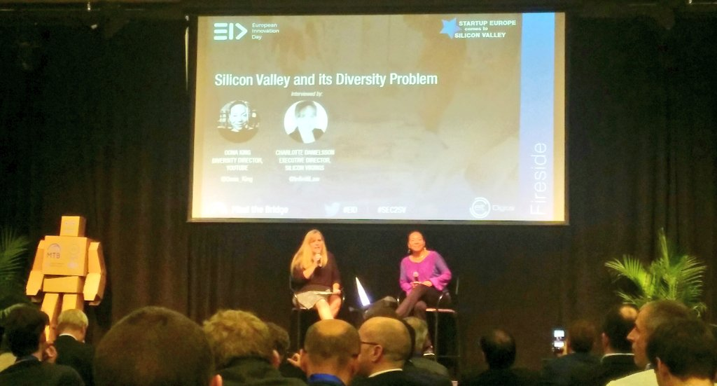 If you want to make money, you need to understand the benefits of diversity - with @Oona_King, Diversity Director at YouTube #EID #SEC2SV<br>http://pic.twitter.com/2HGGdkhPIm