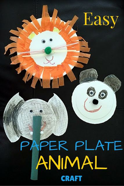 Vai Chin On Twitter Fun And Easy Paper Plate Animal Craft