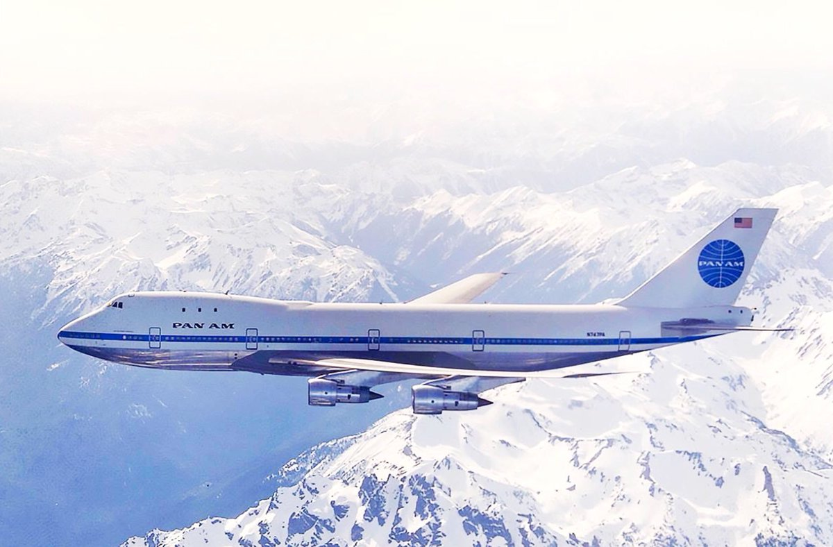 We all know the real #Queenoftheskies - Pan Am's 747. The original. https://t.co/8USMMn4WIA