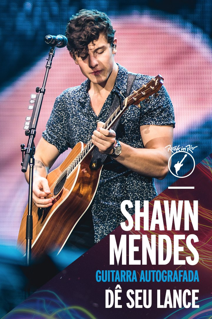 Fãs do @ShawnMendes: A T E N Ç Ã O! Tá rolando um leilão para ganhar uma guitarra autografada pelo #Shawnzinho. Vem: https://t.co/336C7IxbGX