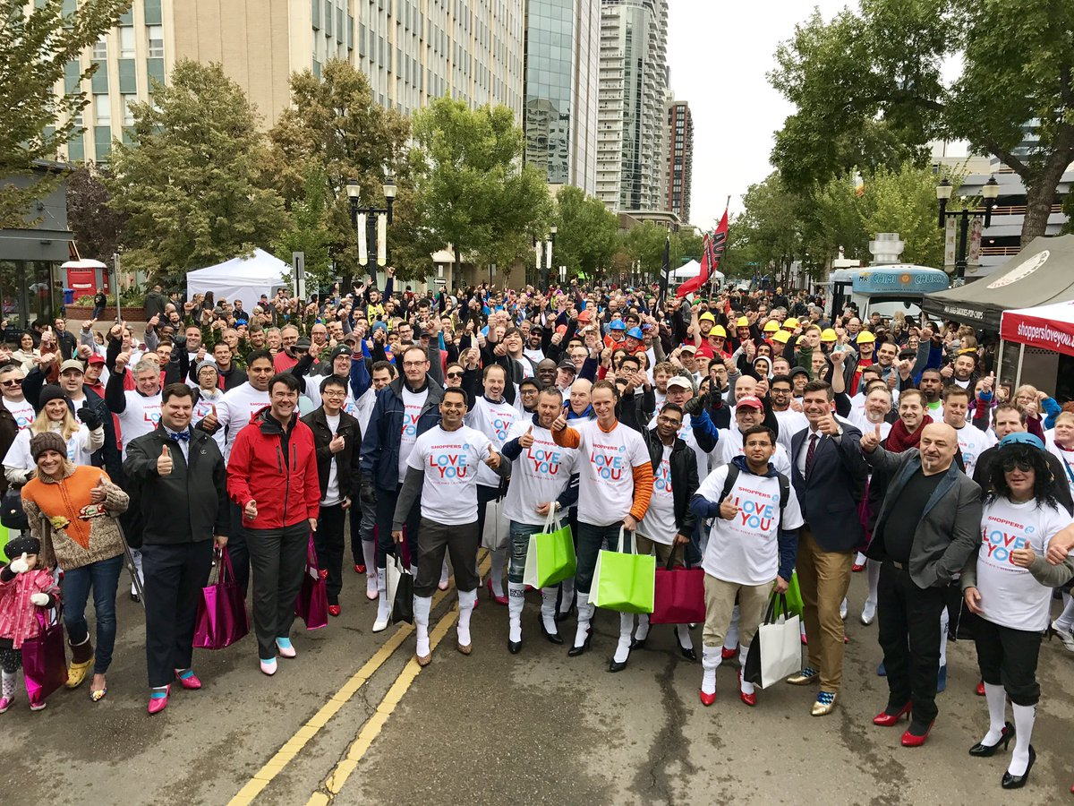 400+ walkers, 800+ stilettos, and $195k (and counting) raised for @YWC...