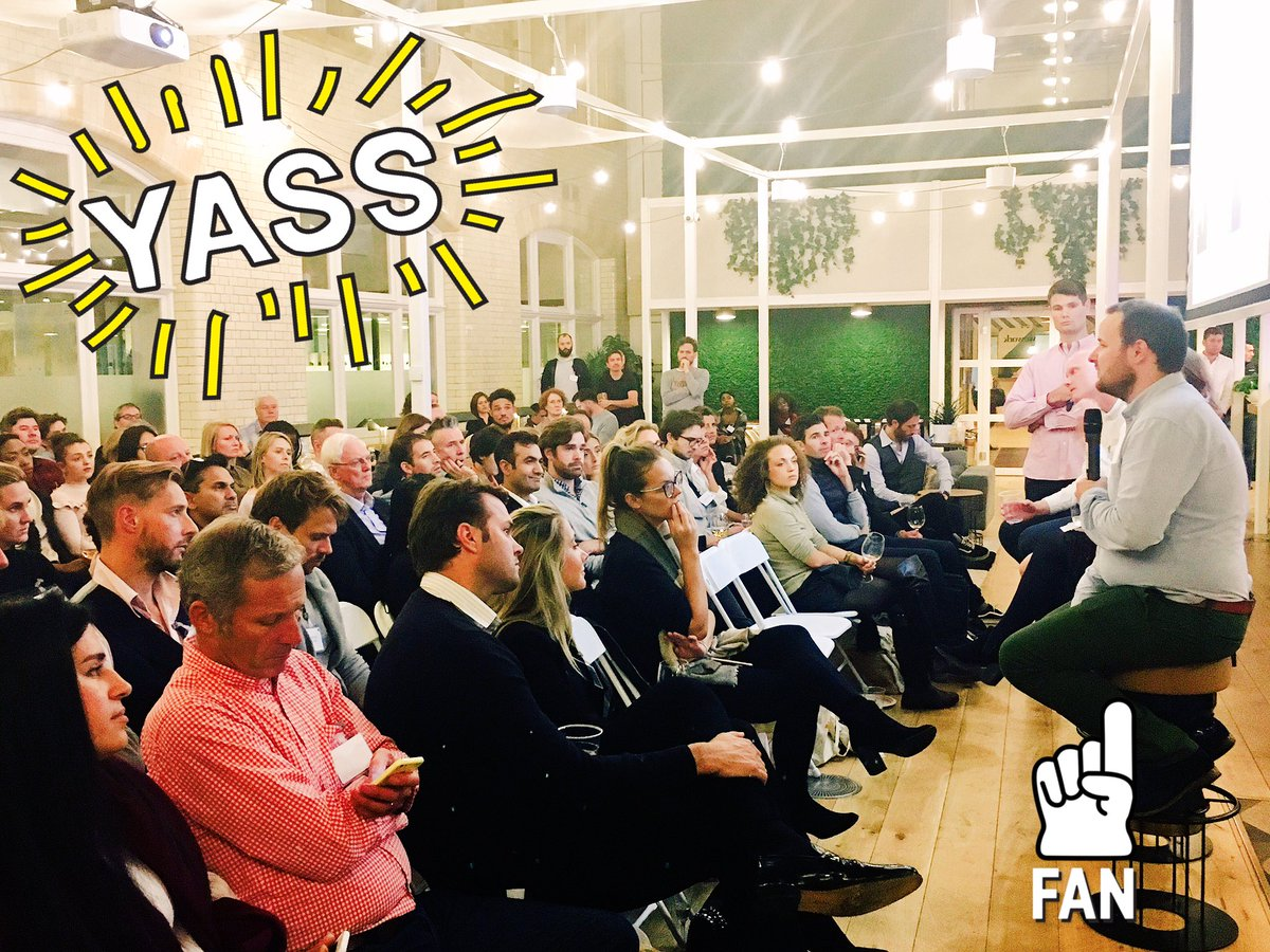 Banging turnout tn @WeWork #waterhouse @Crowdcube x @gapcapuk #letstalkgrowth #food + #bev #funding #growth #venture #industry insights <br>http://pic.twitter.com/euYxVyyUqr