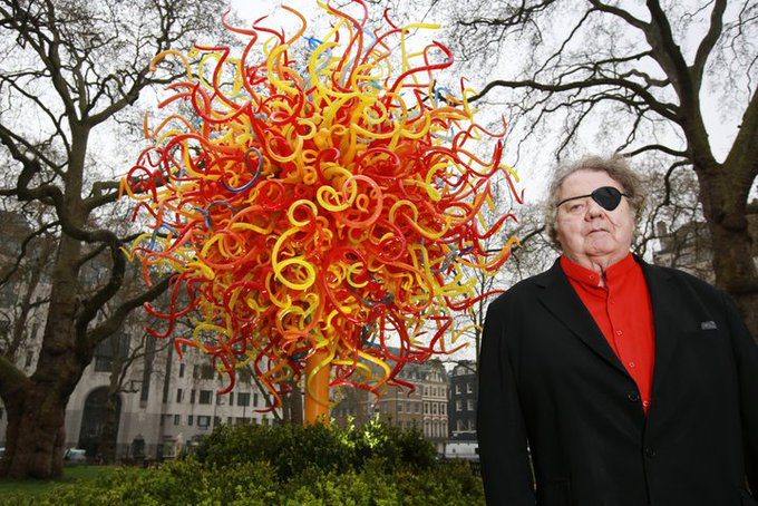 Happy birthday to sculptor Dale Chihuly! Have you seen his work at the Luce Foundation?