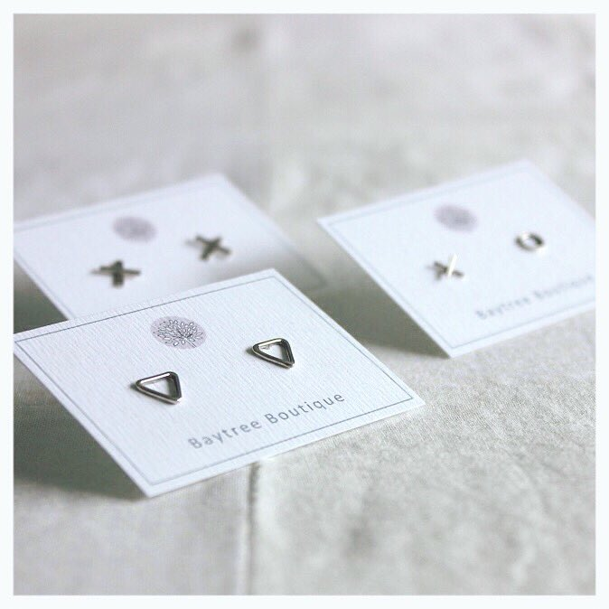 #cute #simple #studs #perfect as #stockingfillers #now in the #Etsy #store #handmadehour #ecosilver #ethical #christmasiscoming #earrings<br>http://pic.twitter.com/W06vMM0zdQ