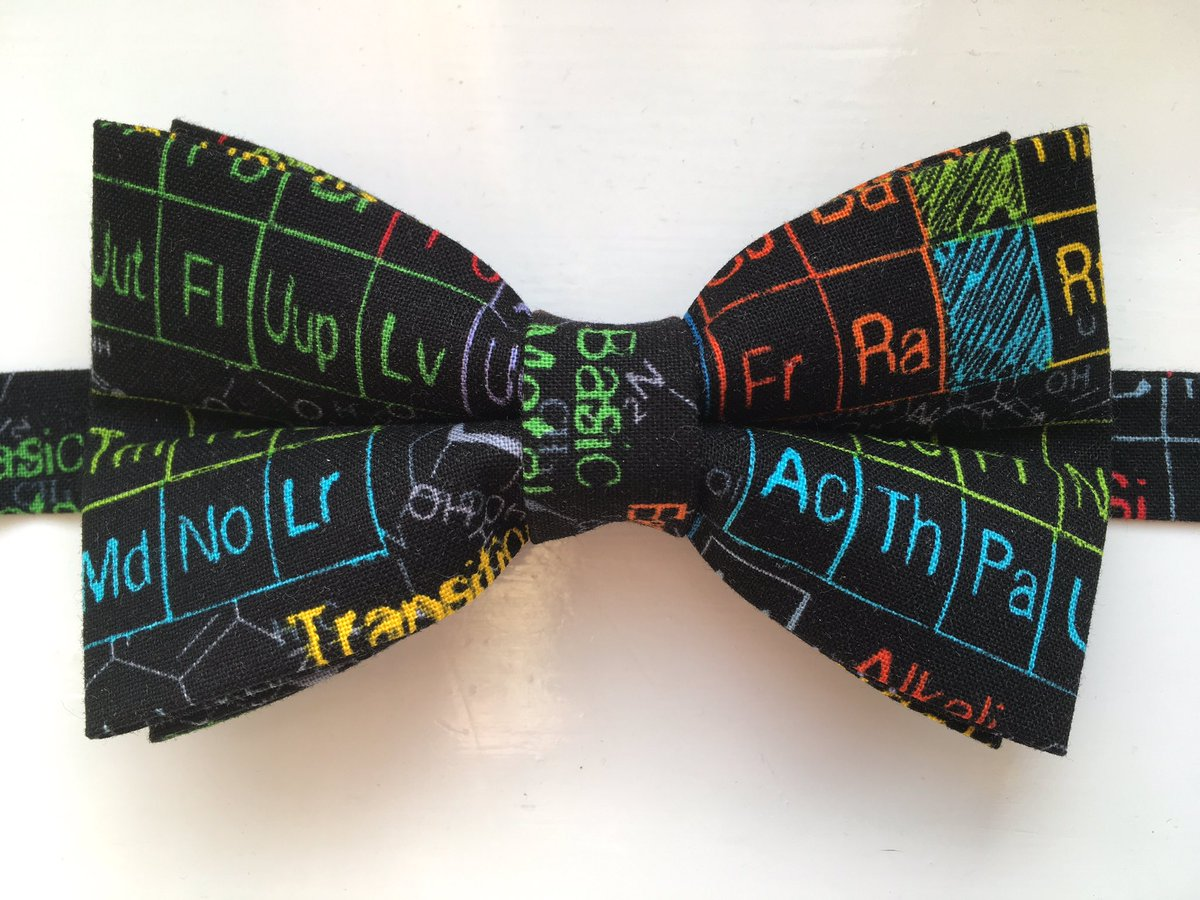 Hello @HandmadeHour Here&#39;s something I made today with a science theme! #Handmadehour #craft #science #chemistry #Womaninbiz #UKBiz #bowtie<br>http://pic.twitter.com/MPHnnCaQgr