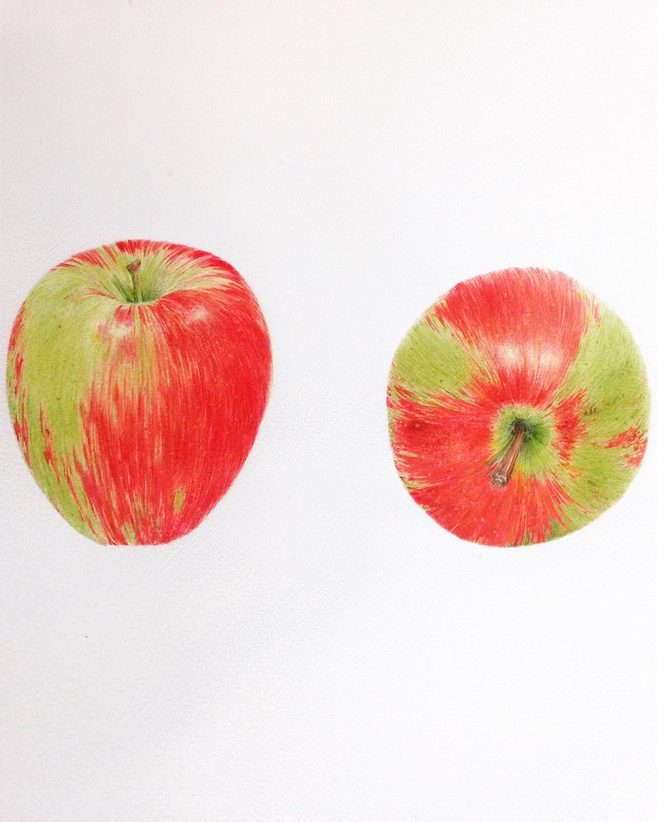 #autumn&#39;s in the air, #apple time! Crumble/pie? #illustration #fruit #food #HandmadeHour @dfordorganics @BakerOnBoardUK @urbgardenersrep<br>http://pic.twitter.com/I3zH9ygHTC