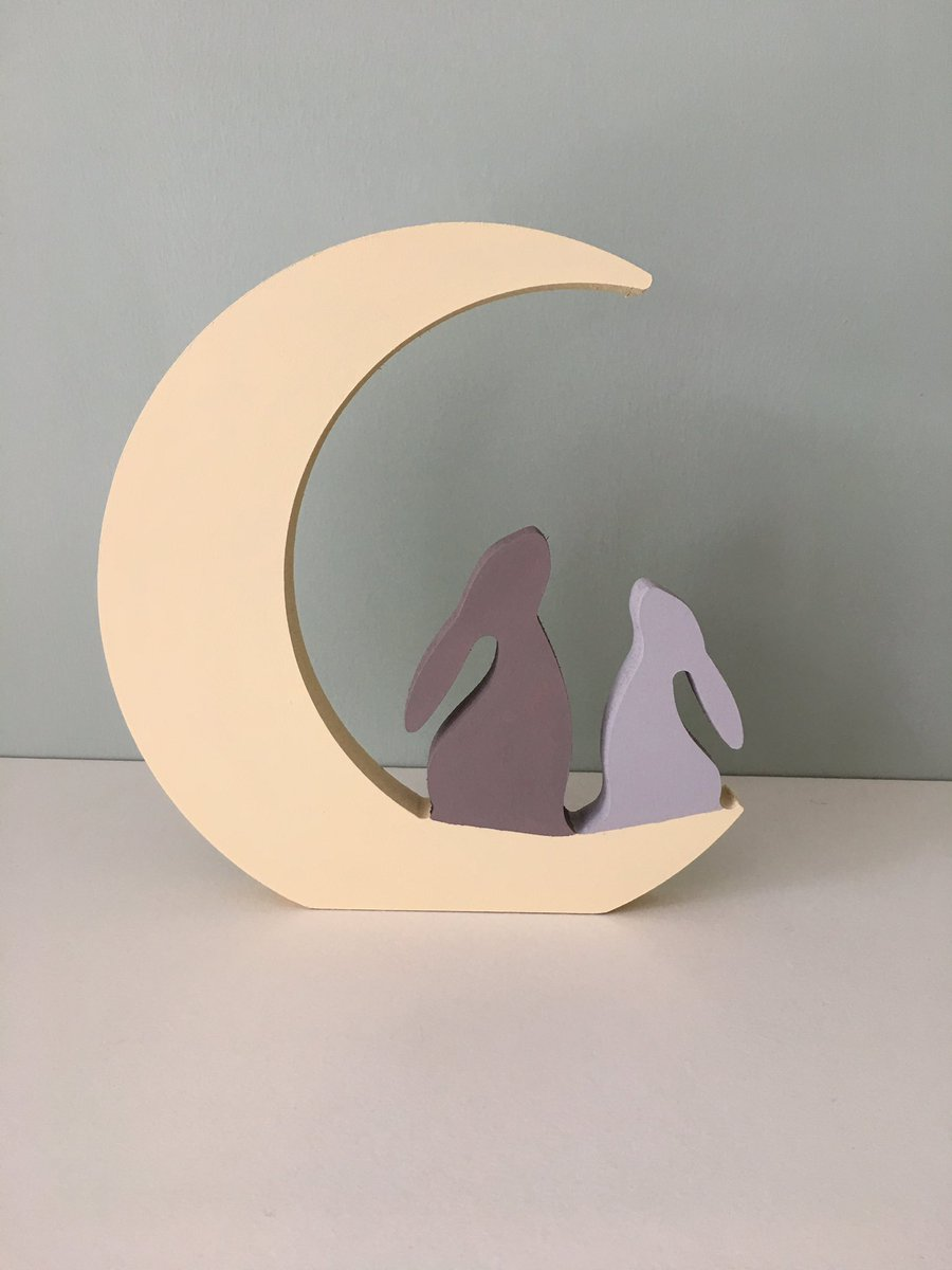 I&#39;ve had a slight delay on the logo &amp; shop launch but hoping to be completed soon and these moon gazing hares will be added  #HandmadeHour <br>http://pic.twitter.com/WHWVlmvs6c