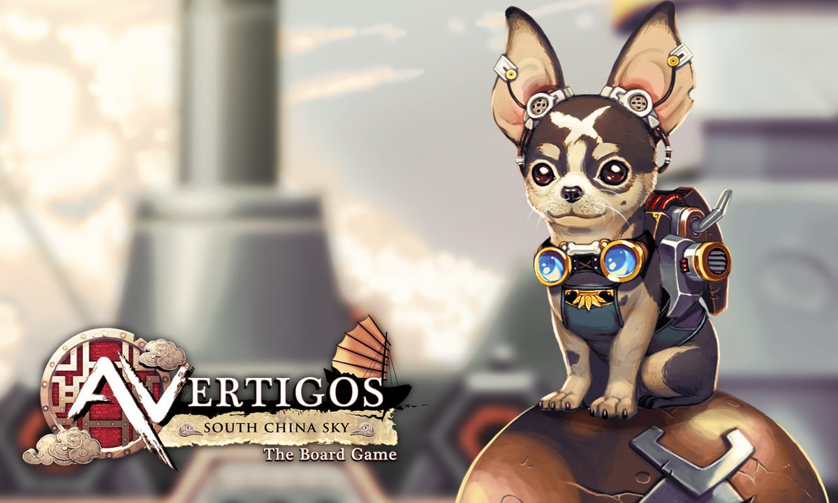 Woof! The #Steampunk #PiratesLife #Dog. Woof&#39;s is #1 of the unassuming #Heroes on his FlyingShip! #scifi #boardgames  http:// kck.st/2vXQQMk  &nbsp;  <br>http://pic.twitter.com/GihnpiA2NK