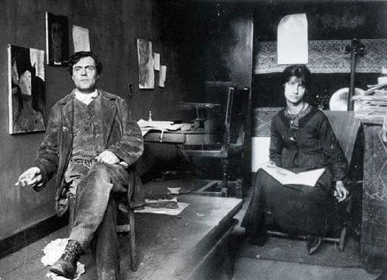 """Jeanne Modigliani: El Eremita On Twitter: """"Amedeo Modigliani Y Jeanne"""