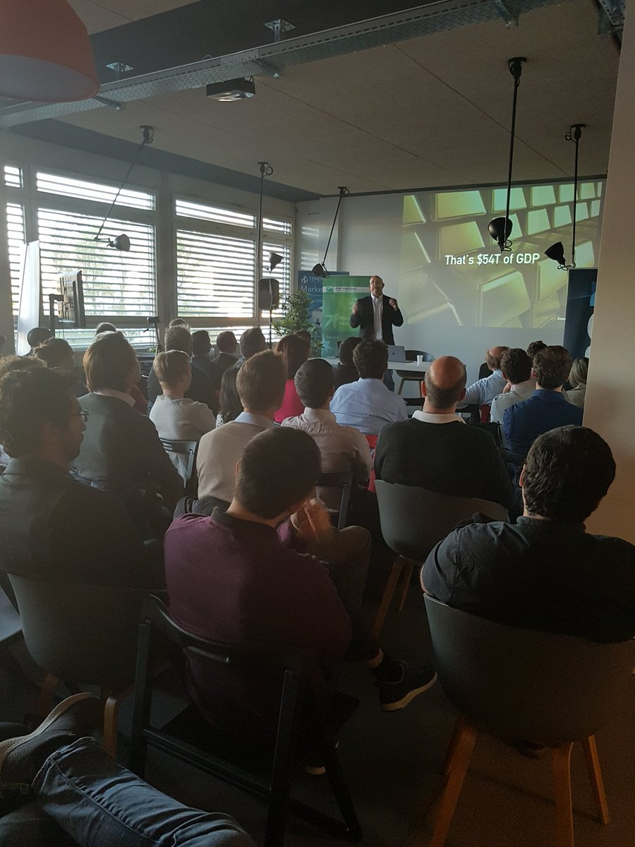 Great event @FintechFusion with @sweetbridgeinc . Thanks Guys! Love your talk, ideas! #blockchain #DigitalEconomy #supplychain <br>http://pic.twitter.com/wVgOePvQtI