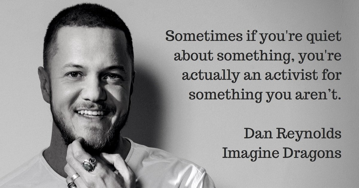 Wise words from @ImagineDragons front man @DanReynolds on the Why Not Now? podcast: https://t.co/zUUHay0XQM https://t.co/sFsnRmazkZ