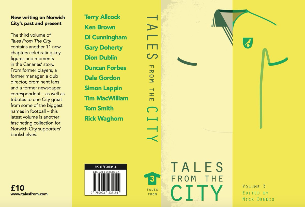 Breaking #NCFC: Pre order of Tales from the City volume 3 is NOW OPEN HERE:  http:// bit.ly/TFTC3PRE  &nbsp;     Be one of the first to read it #OTBC<br>http://pic.twitter.com/YJCGsOT2FM