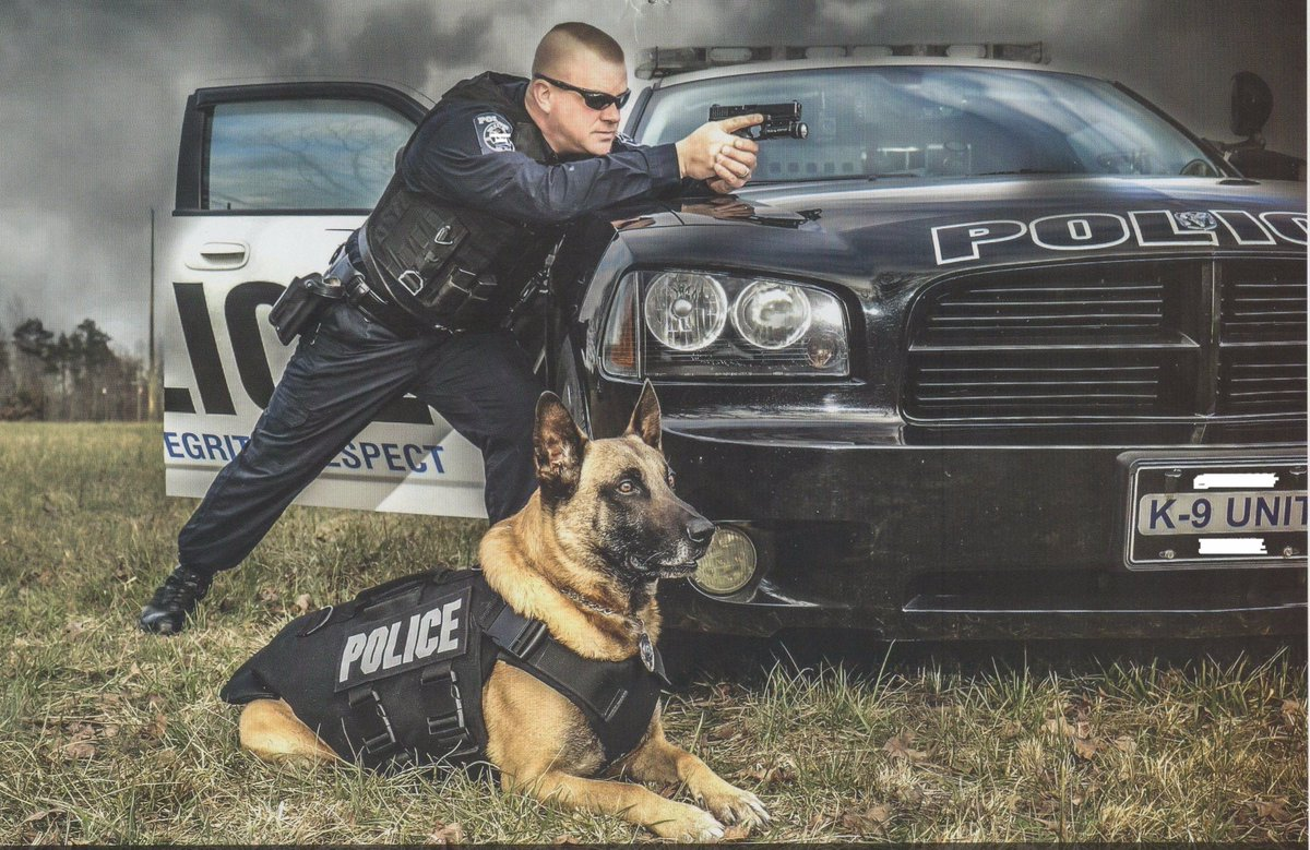 Visit thankacop.org/fundraisers.ht… - Were raising funds to buy our K-9s protective vests. Please help us...you may save the life of a K-9.