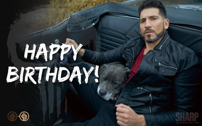 Happy birthday to the badass, Jon Bernthal aka The Punisher! The actor turns 41 years old today!