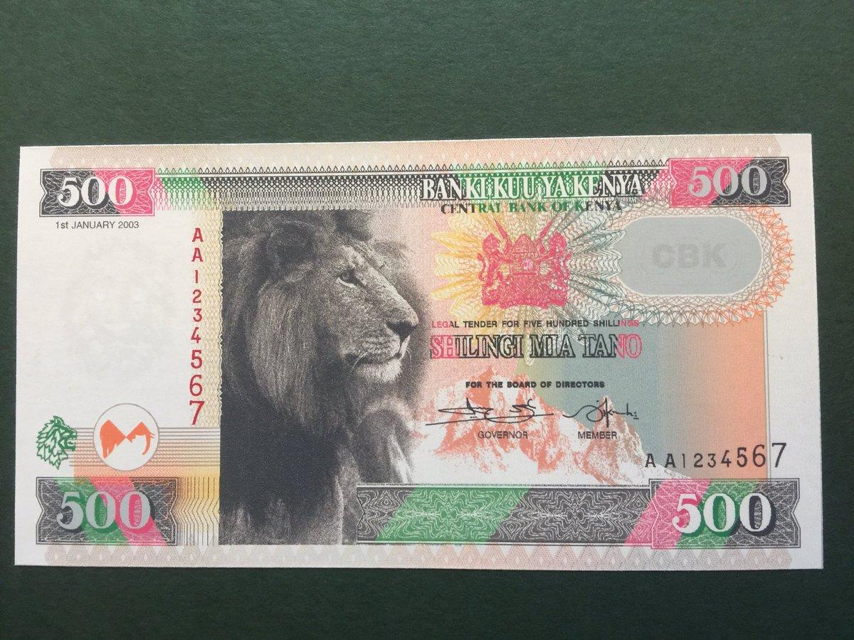 Image result for New notes Kenya
