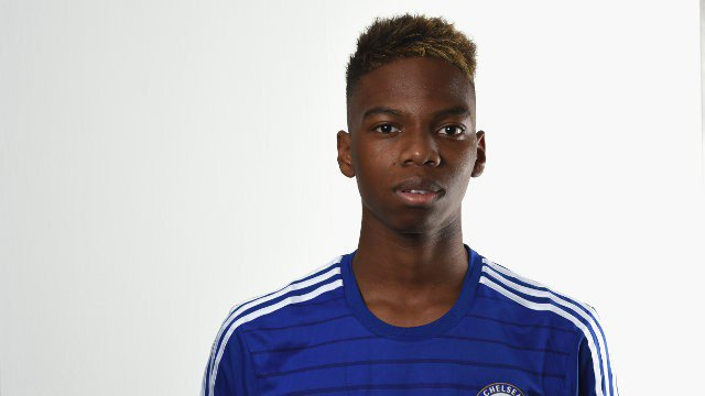 Charly Musonda is the 450th player to score for @ChelseaFC. #CFC #Chelsea<br>http://pic.twitter.com/IMLA189zYW