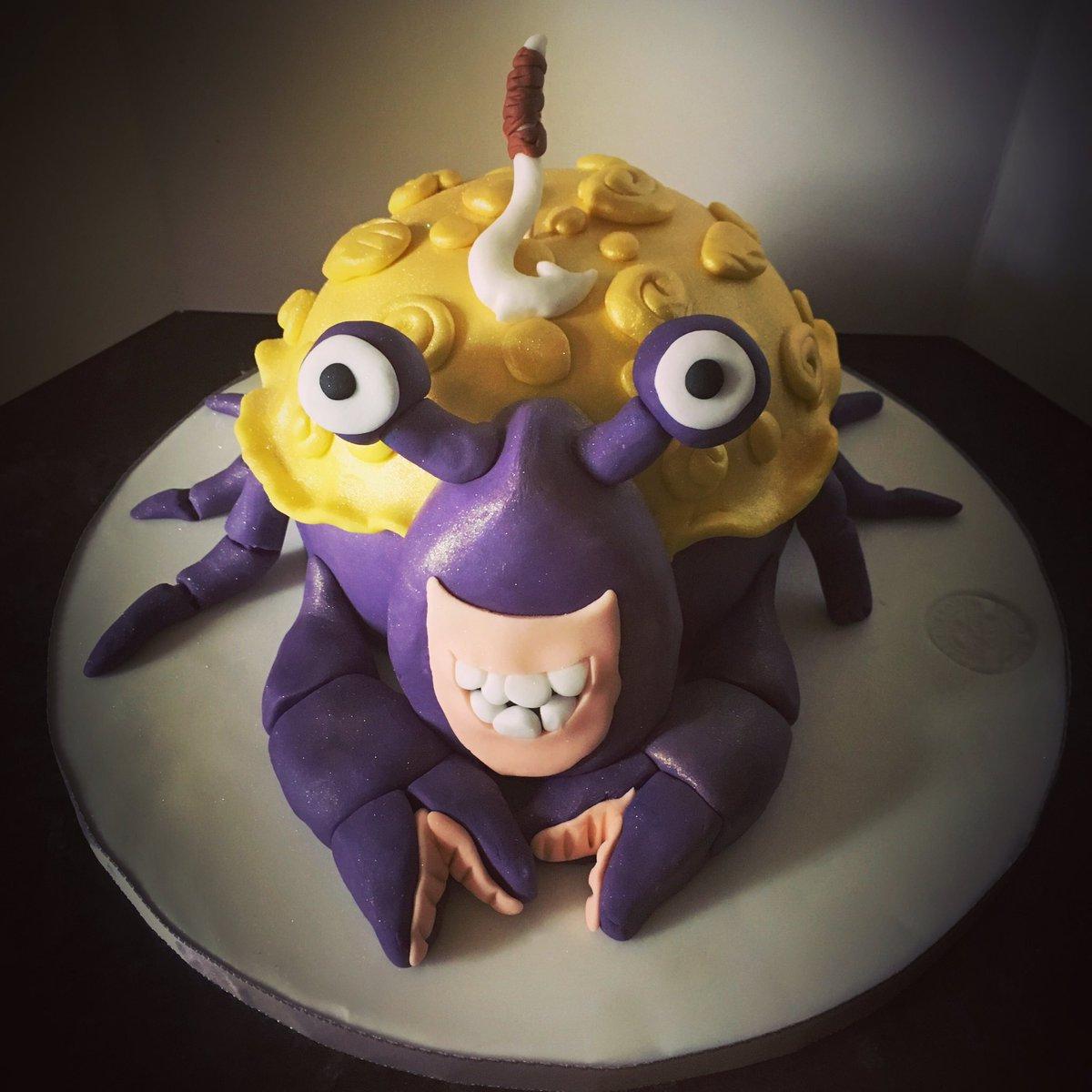 Sunflower Cakes On Twitter Tamatoa ShinyCrab Moana MoanaCake Maui Simply Loved Making This Hes So Shiny