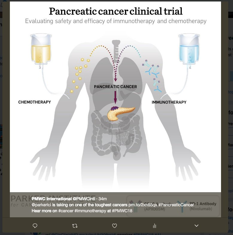 test Twitter Media - @parkerici is taking on one of the toughest cancers https://t.co/ZIXQ58Ekxz  #PancreaticCancer Hear more  #cancer #immunotherapy at #PMWC18 https://t.co/yt0ksrTVE7
