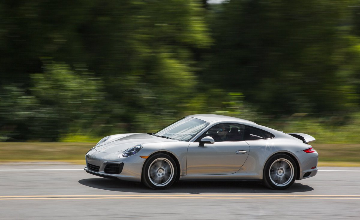 Click here for each car s actual lap time at caranddriver com look - The Porsche 911 Carrera 4 Pdk Is Excellent As Expected Tested Http Crdrv Co 1yh4hyn Pic Twitter Com Ig5pyssdom