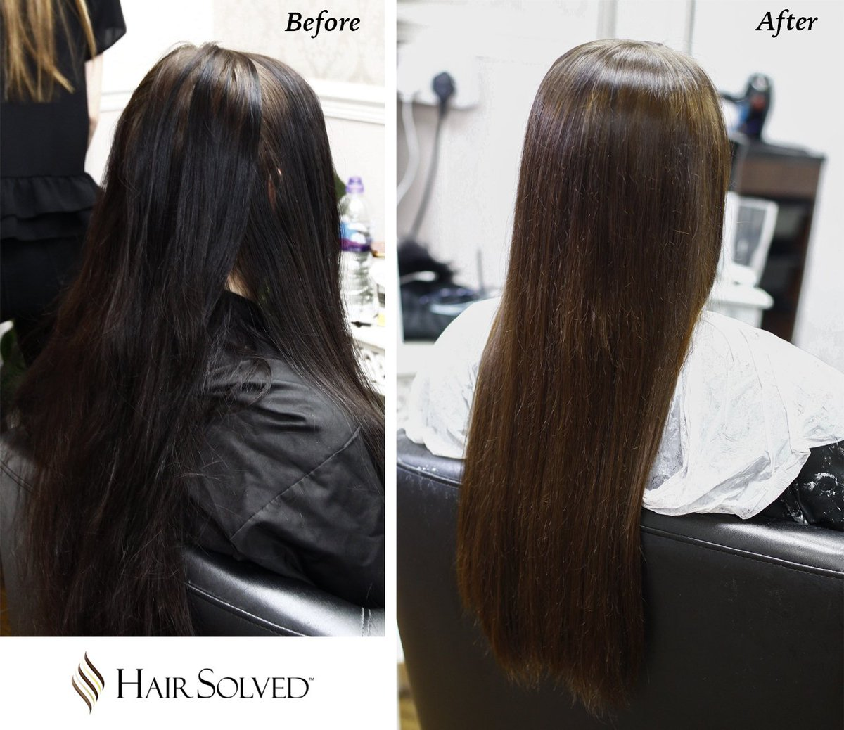We&#39;ve made a few more fixes and here it is - medium brown colour lifted from black. #hair #haircolour #brownhair   https:// hair-solved.com  &nbsp;  <br>http://pic.twitter.com/CpBlJRq4KV