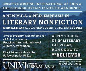 creative writing mfa degree online