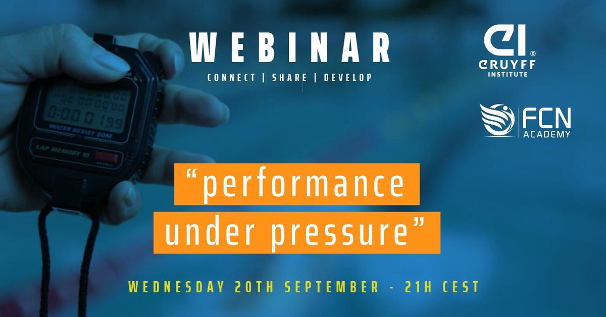 Great webinar from @FemaleCN and @CruyffInstitute tonight!  Thank you!  #performance #pressure #coaching<br>http://pic.twitter.com/Spxz0jfQqw