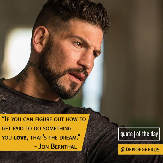 Happy birthday to Jon Bernthal! (We\re excited as heck for Netflix\s by the way.)