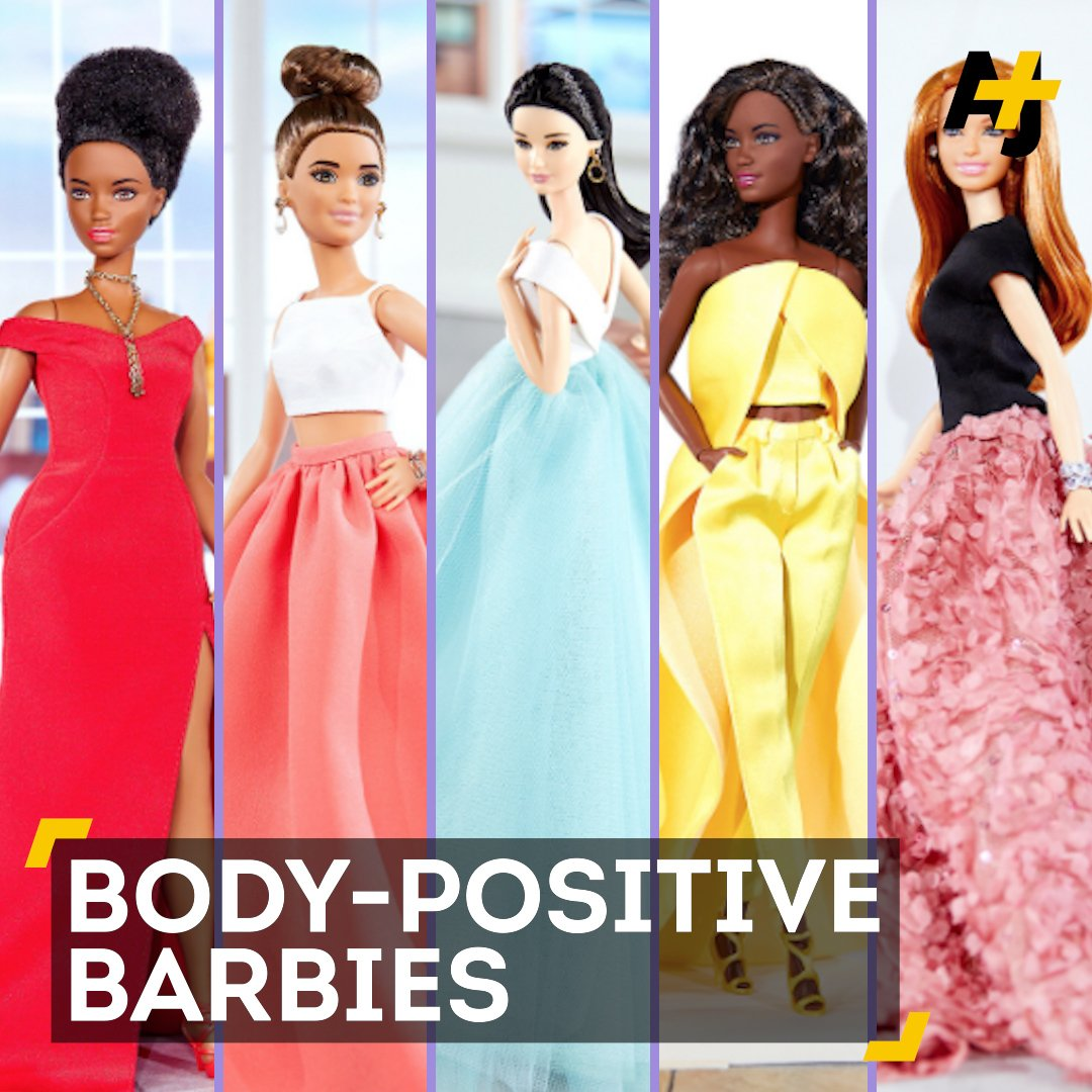 This body-positive fashion designer just partnered with Barbie. https:...