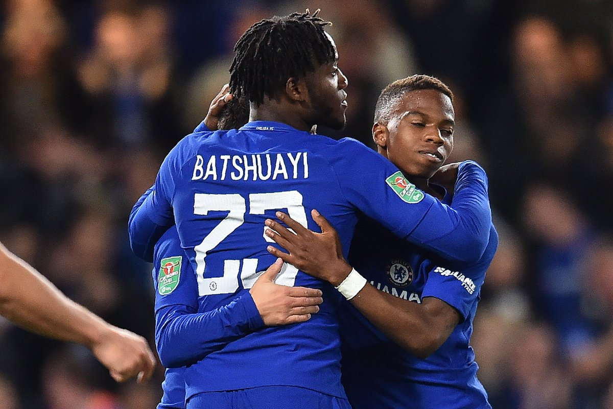"OptaJoe on Twitter ""1 Michy Batshuayi is the first Chelsea"