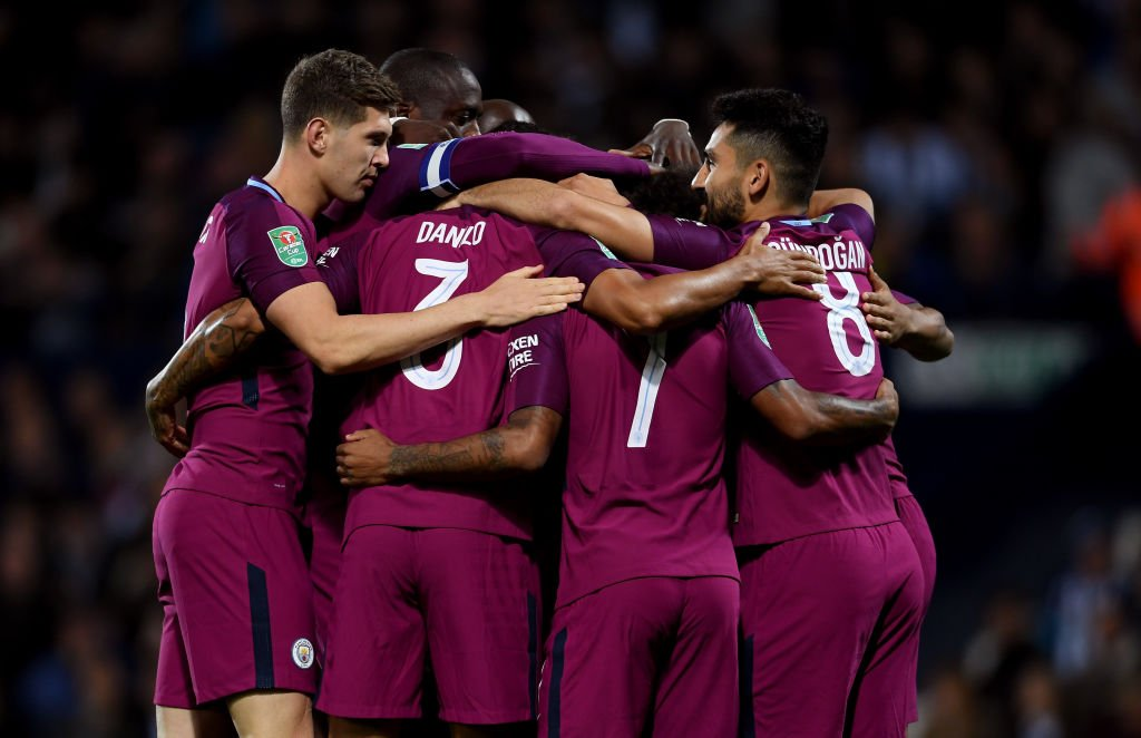Man City are back in front.  West Brom go close at one end, #MCFC pop down the other end and restore their lead. 👉 https://t.co/G9gdRml6mY