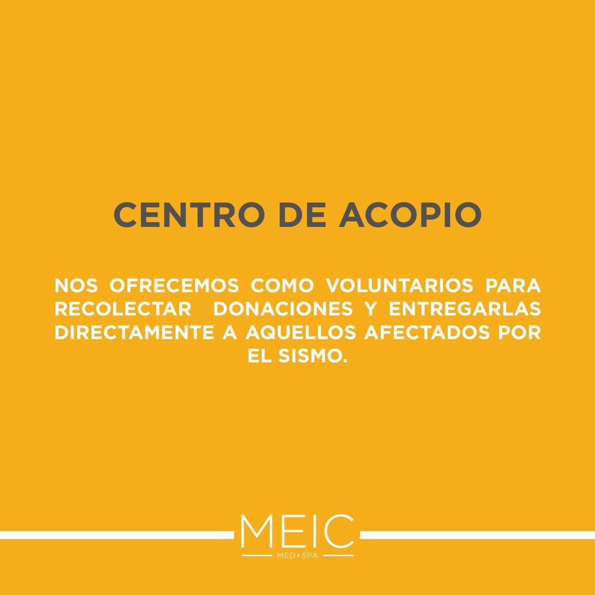 ¡AYUDENME A DIFUNDIR! Centro de acopio en: @MEICMEDSPA / San Pedro y Valle Alto