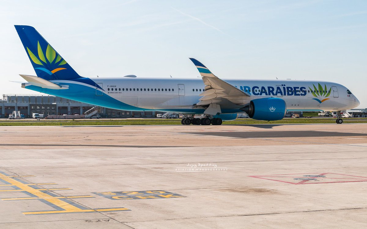 Nice to see back this #Airbus #A350 @aircaraibes at #Paris #Orly 5 month after his first flight at #Toulouse #Avgeek #Travel<br>http://pic.twitter.com/FlB5mAb7DO