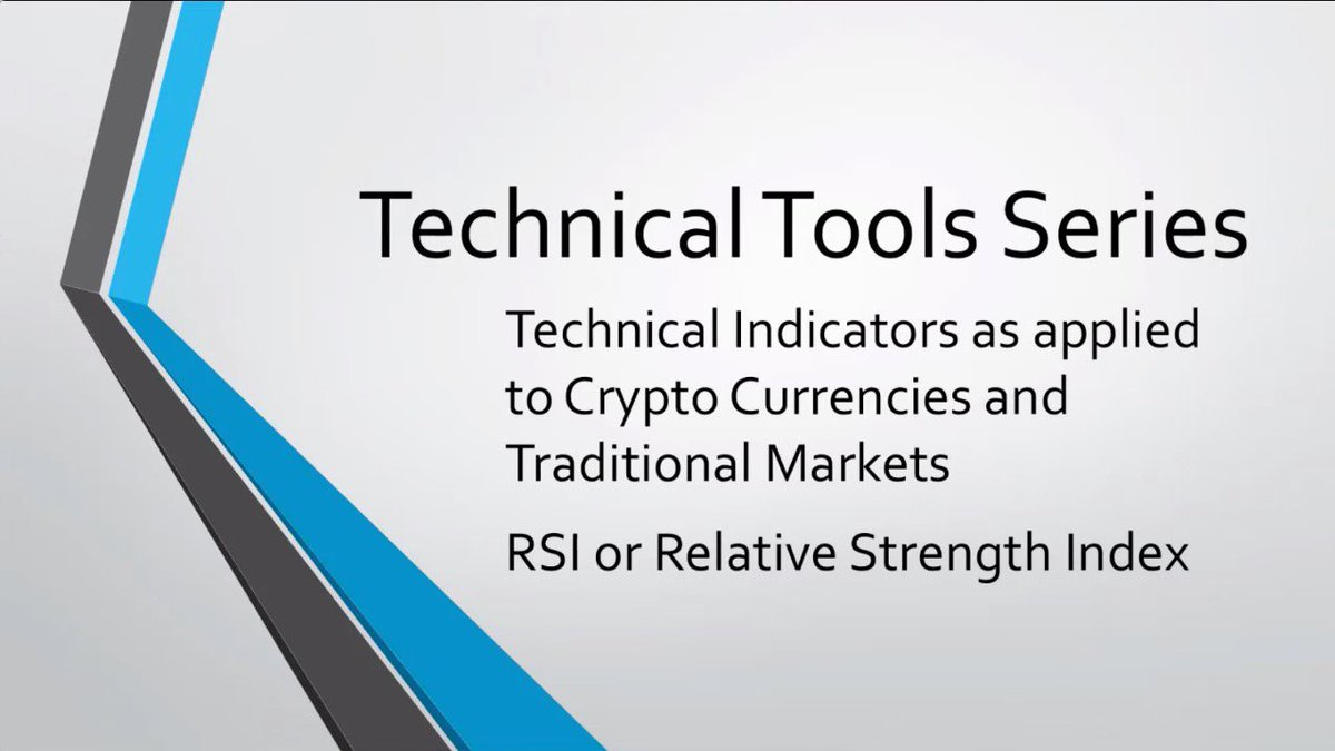 #RSI - #RELATIVE #STRENGTH #INDEX : #CryptoCurrency : Watch -&gt;  https:// youtu.be/vJV-RUAhchU  &nbsp;  <br>http://pic.twitter.com/y02owGiwvG