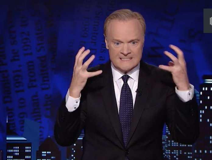 Unhinged Lawrence O'Donnell meltdown on MSNBC leaked