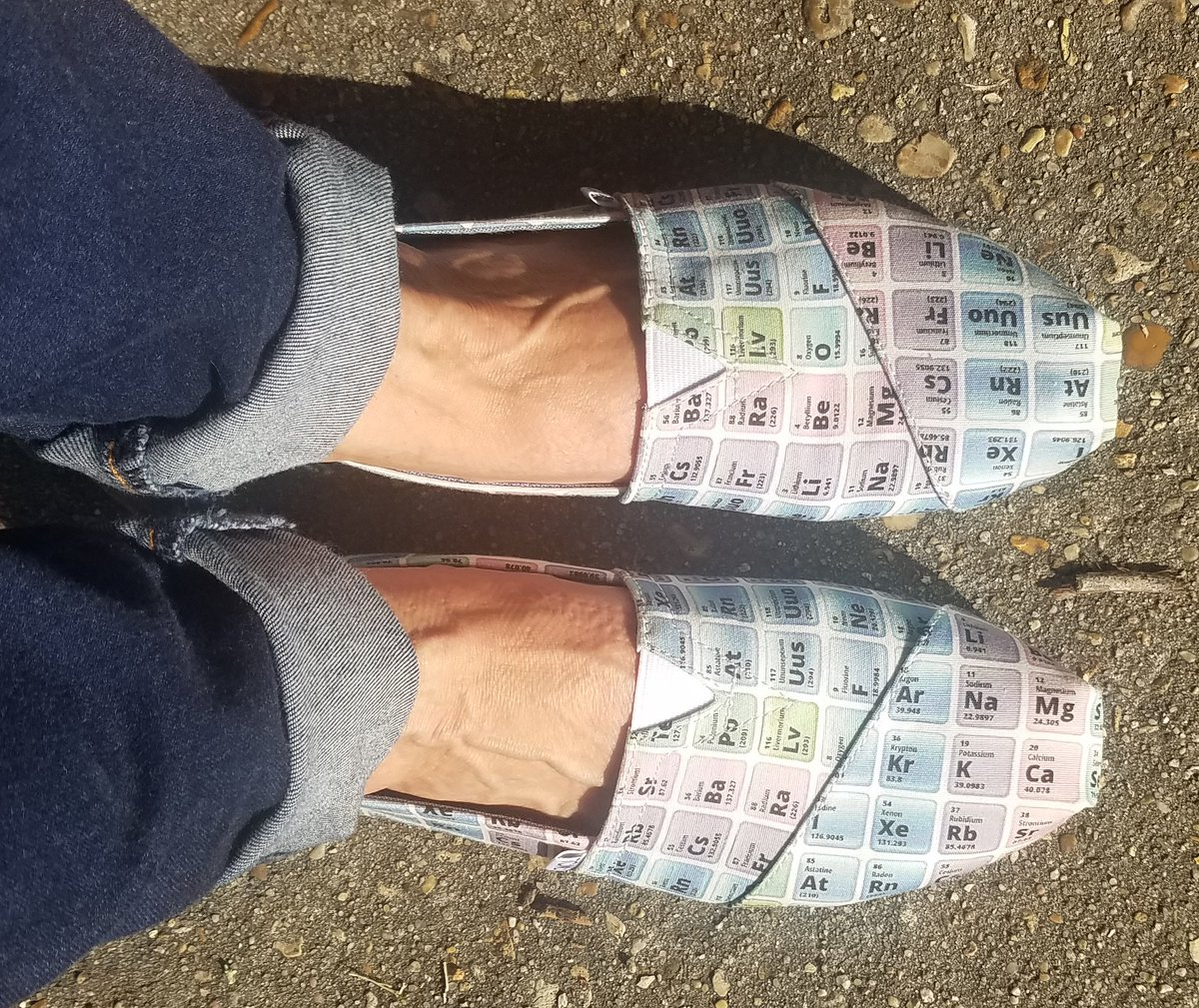 Dawn Saucier On Twitter New Shoes For Stemqueen Periodictable