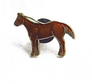CLEARANCE #Vintage Horse Tie Tack Equestrian Enamel Lapel Pin Pony #vanity #trending #fall #jewelry  http:// etsy.me/2jLGo61  &nbsp;  <br>http://pic.twitter.com/6rsD4nll2H