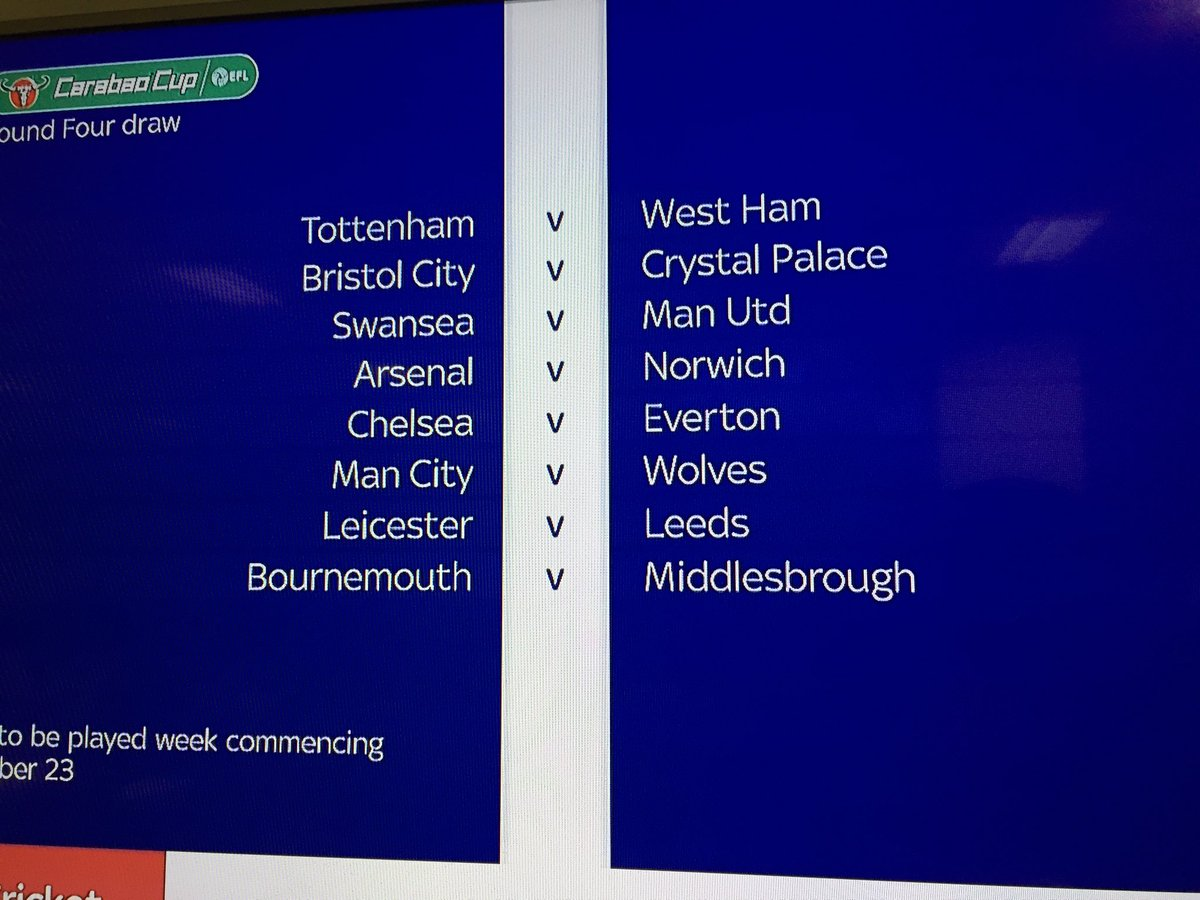 2017/18 English Football League Carabao Cup and FA Cup thread - Page 2 DKMkpKWXcAAI1TT