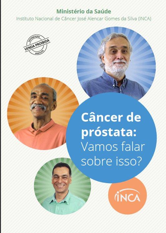 Câncer de próstata: vamos falar sobre isso? O Inca lançou uma nova cartilha para falar do tema. Confira: https://t.co/QRm9reMXwT #Saúde