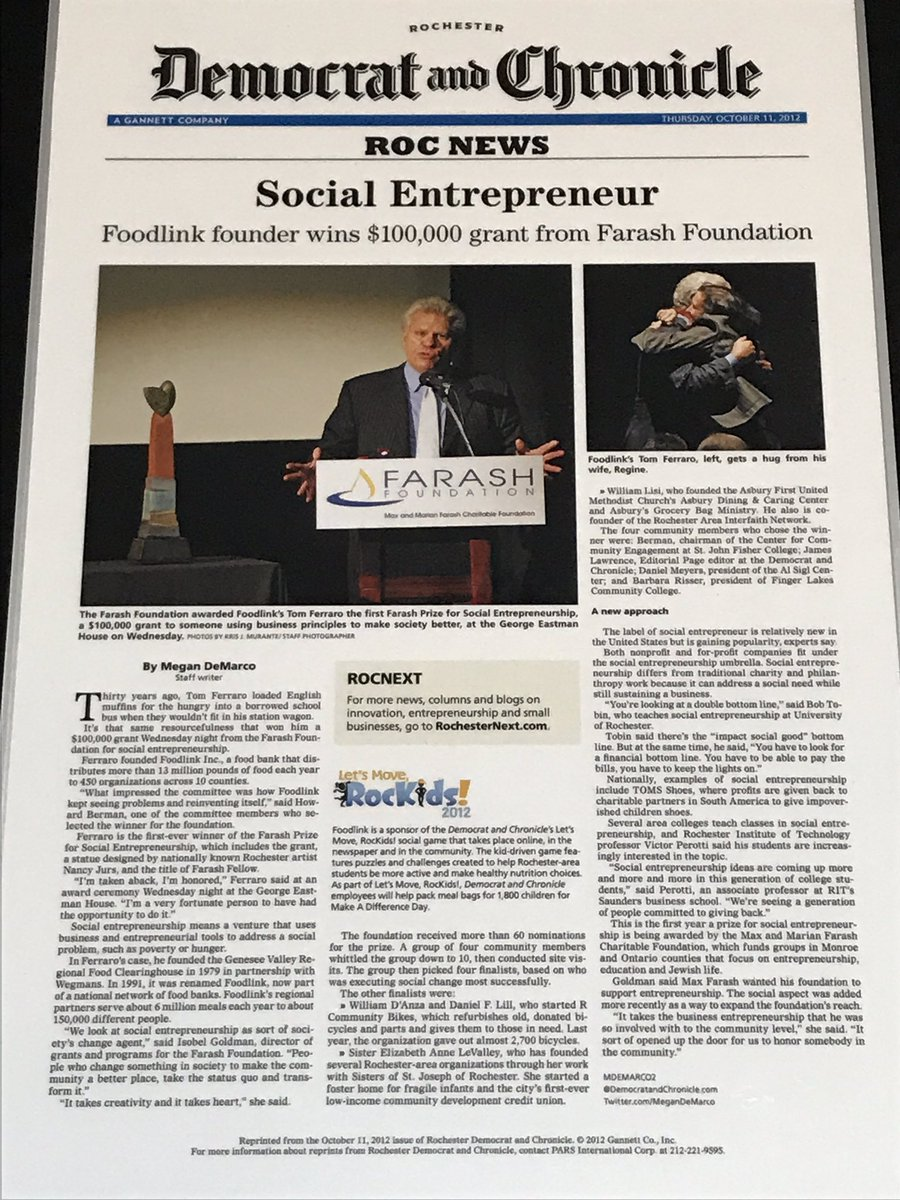 A long history of innovation and #SocialEntrepreneurship at @FoodlinkNY! #SocEnt #ConsciousCapitalism<br>http://pic.twitter.com/VLQpY26oyp