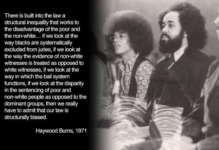 Incredible clip of NLG&#39;s Haywood Burns on structural racism within the legal system in 1971. #BlackLivesMatter    https://www. youtube.com/watch?v=dPV29_ KHzQM &nbsp; … <br>http://pic.twitter.com/PNLCyN8YzL