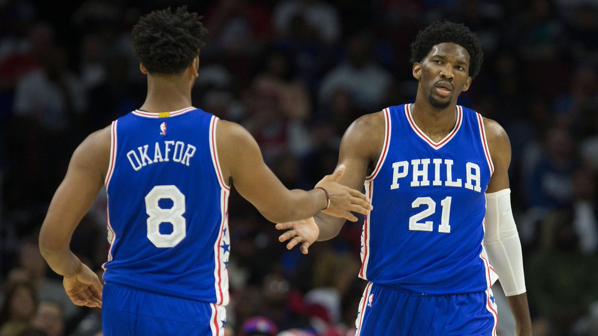 Sixers enter camp with Joel Embiid not cleared for 5-on-5, Jahlil Okafor on trade block https://t.co/lVVS3FyvIQ