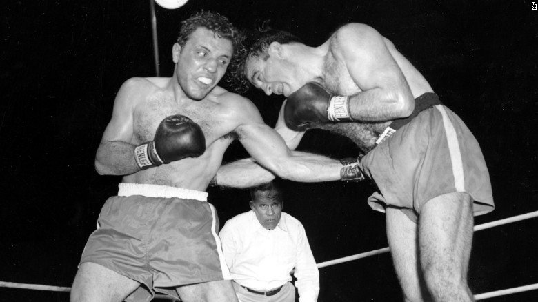 Jake LaMotta, the former middleweight champion of the world, has died....