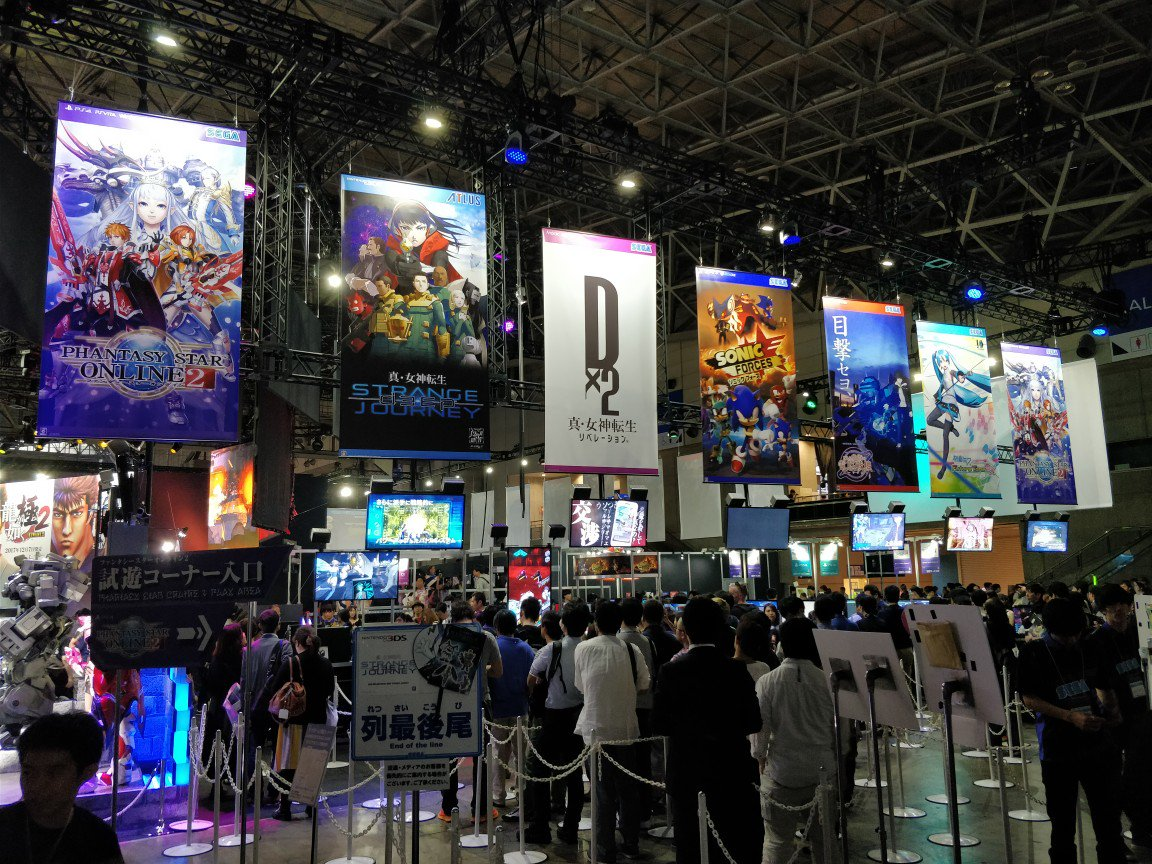 #SEGA &amp; #Atlus&#39;s big games taht are playable at #TokyoGameShow2017. Which one would you play first?<br>http://pic.twitter.com/ALFZd5spQx